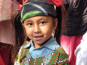 image of young Tawal child