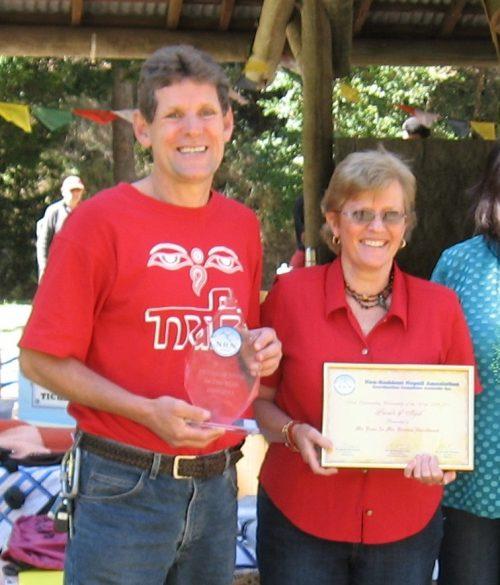 ross and brenda NRNA award