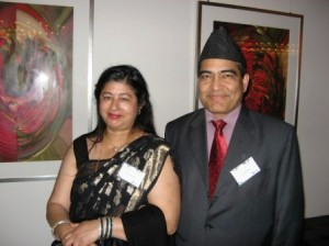 Hari & Rajani at Award ceremony