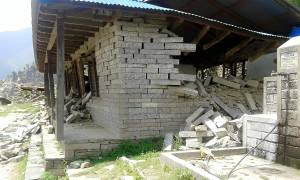 Kutal School is destroyed